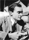 Edward Upward in 1928, photo taken by Christopher Isherwood